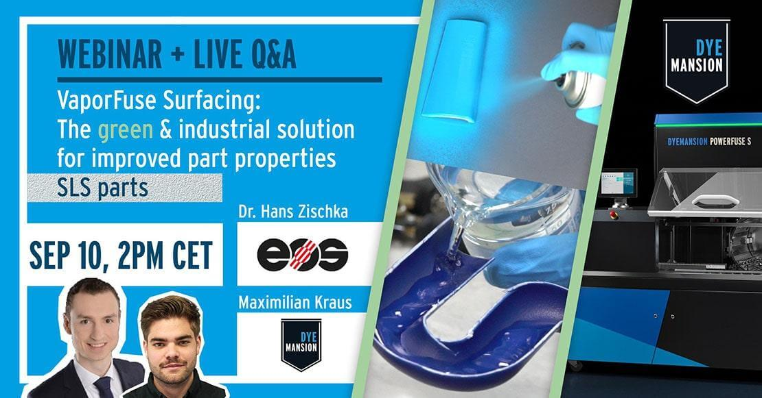 Webinar + Live Q&A VaporFuse Surfacing